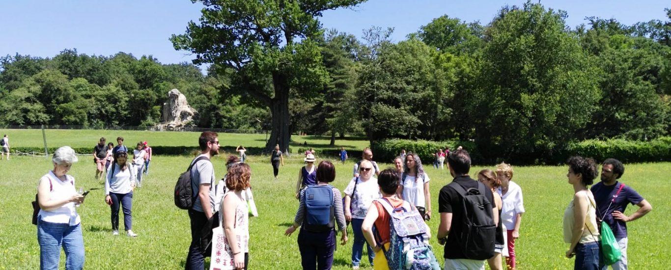 Futuro Vegetale goes to Pratolino Park in Florence